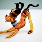 Pluto dog in Murano Glass 100% handmade