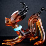 Murano Glass Pluto Dog