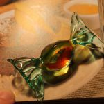 Handmade Murano Glass Lolly created by glass master in Italy