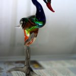 Lampworked Glass emu from Murano