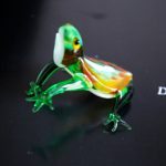 100% Handmade Glass Frog