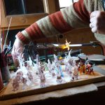 Lampworking venetian glass