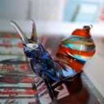Glass Snail in Murano glass