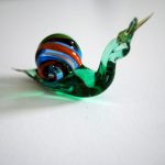 Murano Glass Snail 100% handmade in Italy
