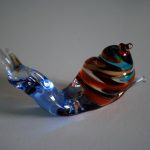 Glass Snail in Murano Glass handmade