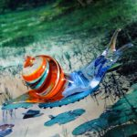 Murano Glass' Snail hanmade in Italy