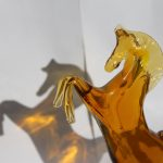 Prancing Horse in murano glass