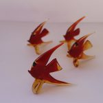 Murano Glass Fish family