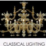 Murano glass classical lighting